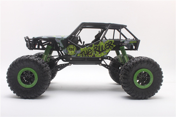 Off-Yarış Off-road 4WD rc araba 1/10 monster truck tırmanma Araba-road Büyük Tekerlekler Kaya Tarayıcılarının Kaza geçirmez rc oyuncak araba en iyi hediye 56413